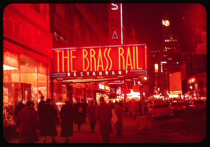 Brassrail