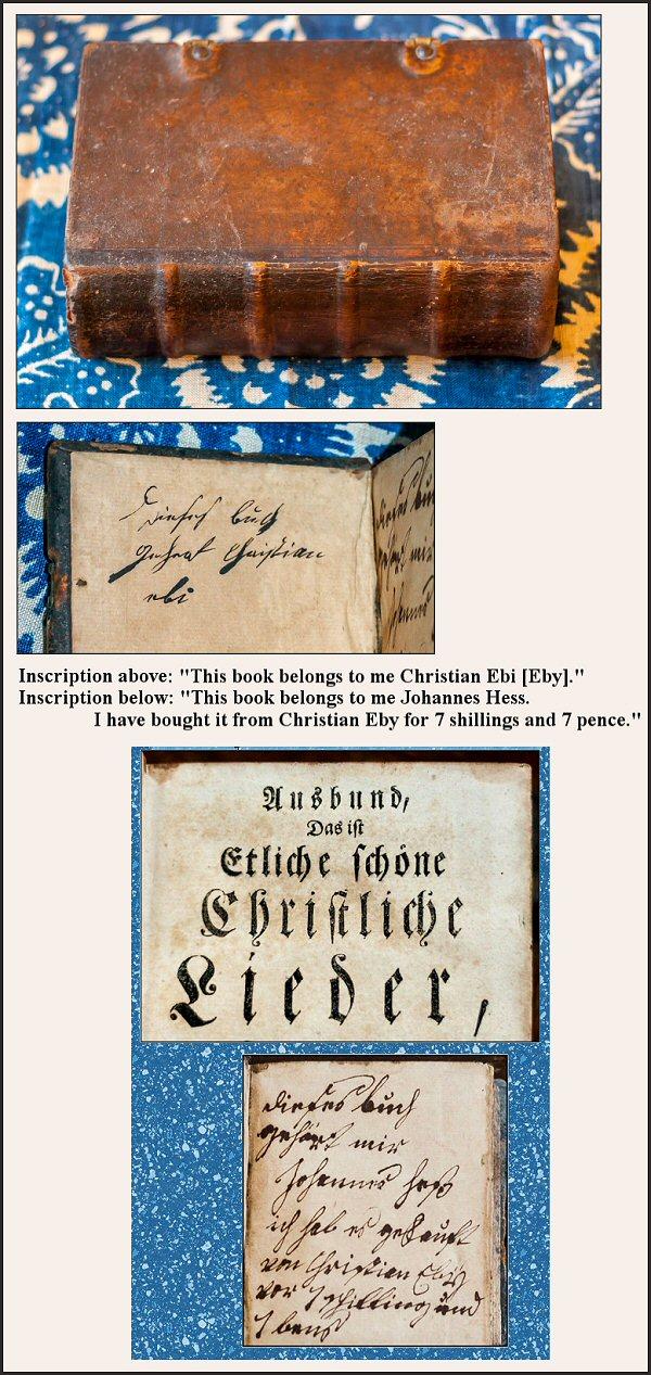 Christian Eby Book