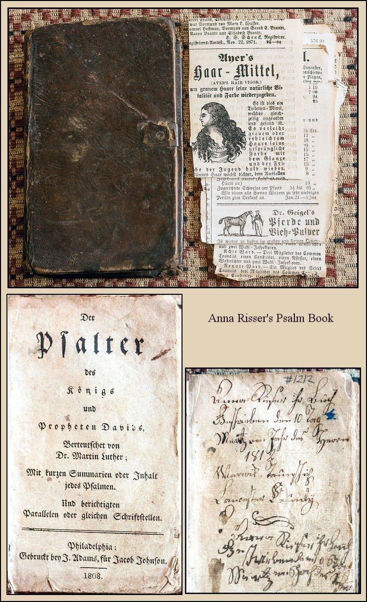 Anna Risser's Psalm Book