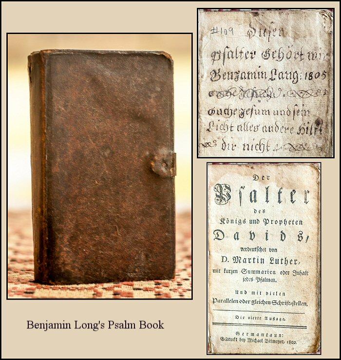 Benjamin Long Book