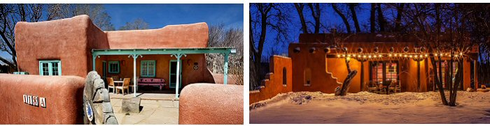 Taos houses