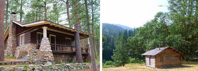 Writers cabins