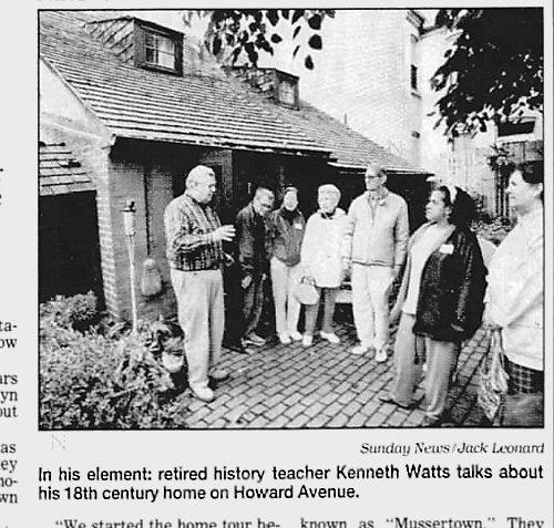 Kenneth Watts 215 Howard Avenue Lancaster