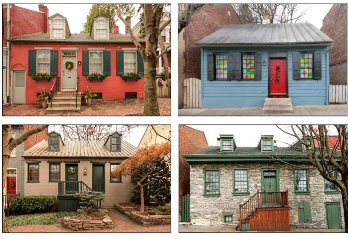 4 houses intro