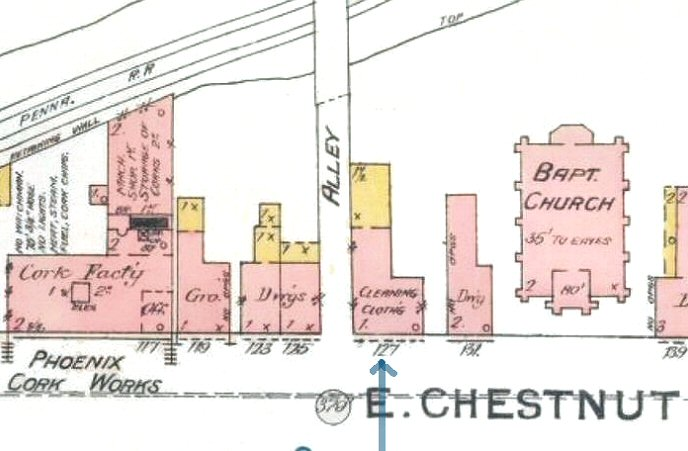 Chestnut St. Map223