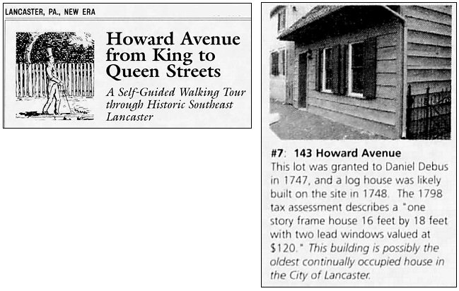 Howard Ave. WalkingTour