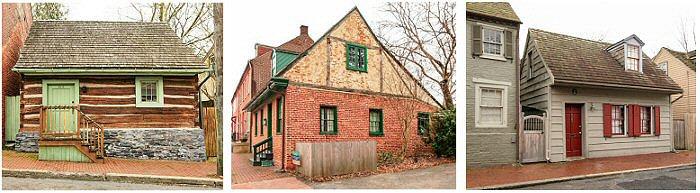 Howard Avenue Three Houses