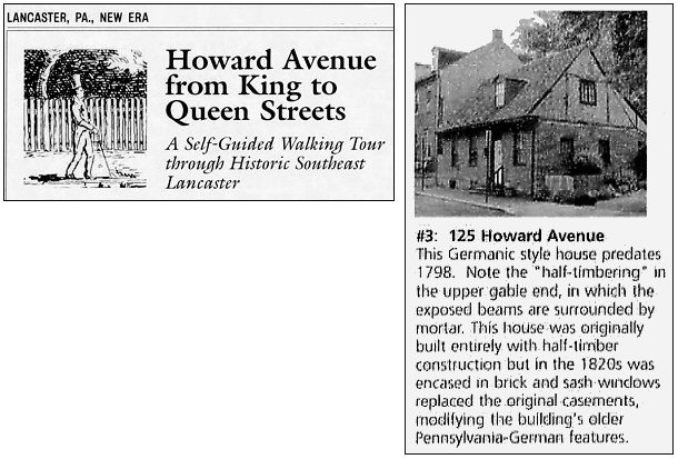 Howard Avenue Walking Tour 125