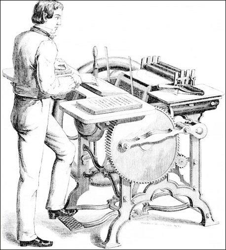 Gordon Jobber Printing Press