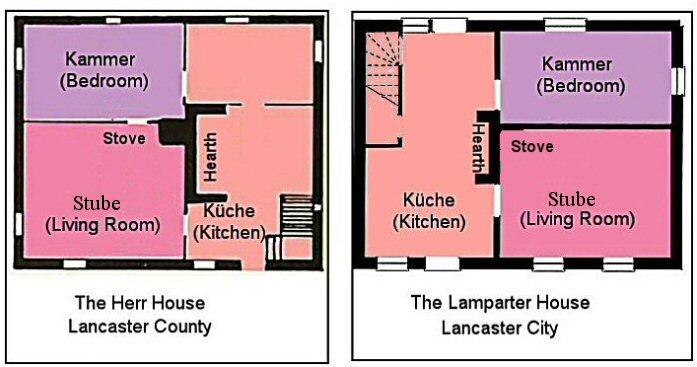 Two House Floorplans