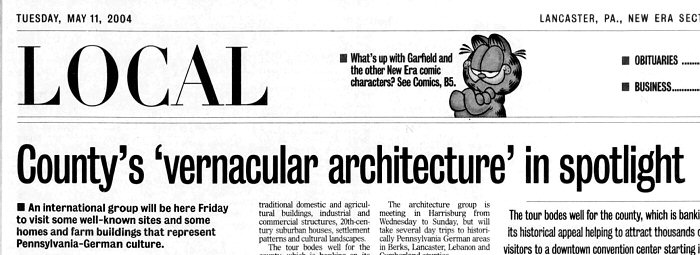 Vernacular Architecture Tour