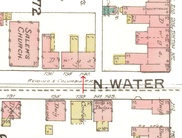 140 North Water Street Map 44