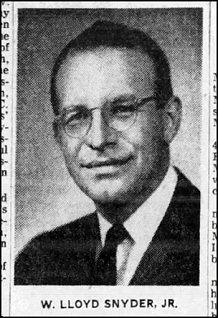 W. Lloyd Snyder Jr 2