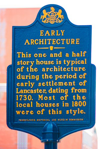 PHMC Historical Marker Lancaster