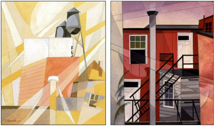 Two Charles Demuth Paintings Lancaster