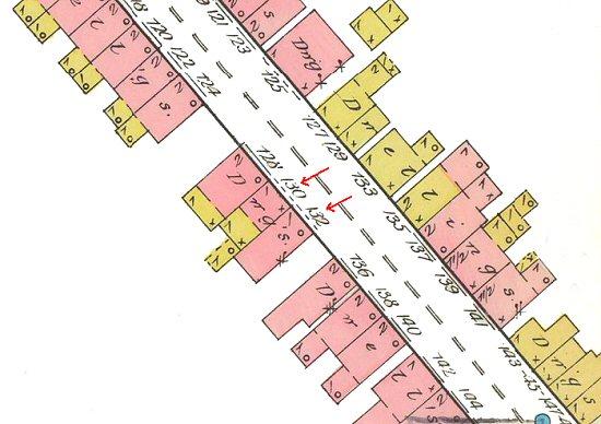 Howard Avenue Houses Map