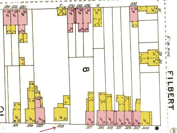 Map 523 High Street 2