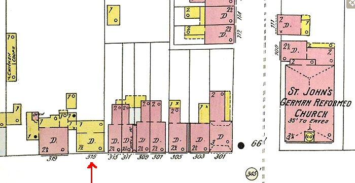 Sanborn Map Lancaster 55
