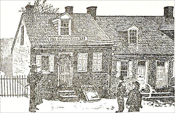 Howard Ave Illustration