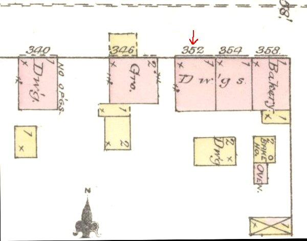 352 East Orange Map
