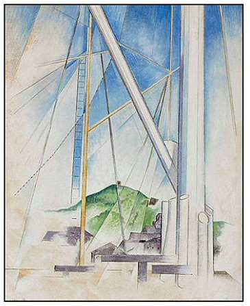Charles Demuth Record Painting