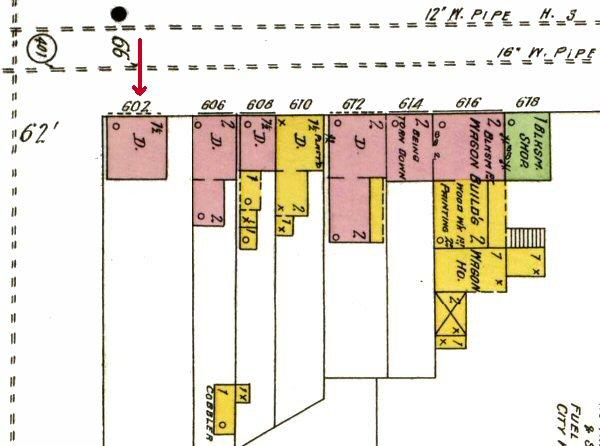 East King Street Map 3883